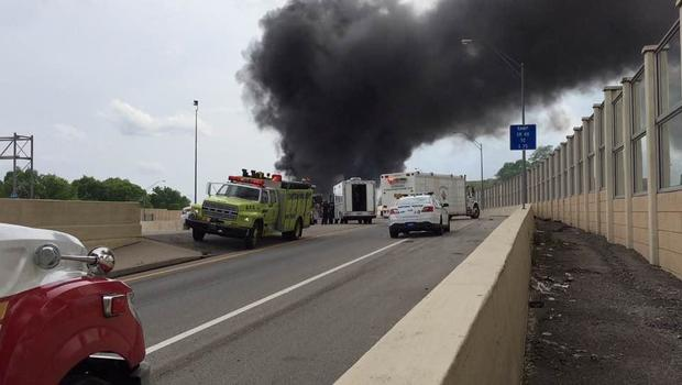 Deadly crash on OH interstate sparks large fireball