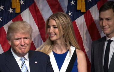 The Trump family's prominent roles in the White House