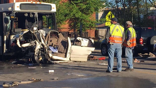 4 Dead After Car Collides With Chicago Bus