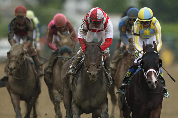 Cloud Computing sprints to Preakness win at the wire