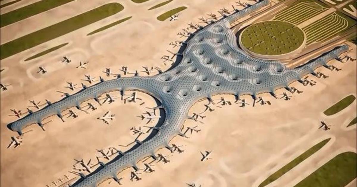 Recorrido por el plano del nuevo aeropuerto en la Ciudad