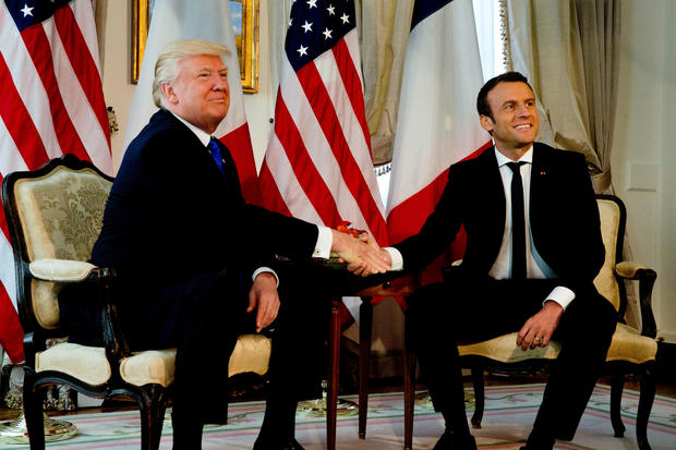 Did Trump really favor Macron in France?