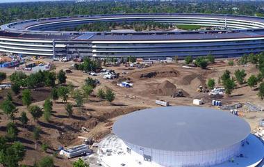 Apple's massive, glitzy new domicile