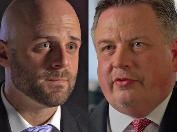 NCIS代理人DeBolt和Doyle