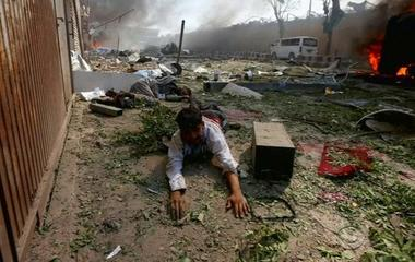 At least 90 killed in suicide truck bombing in Kabul