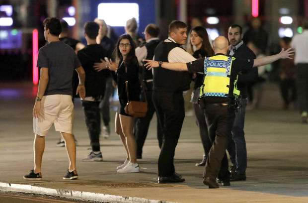 London Terror Attack: Woman begs loved one to hold on