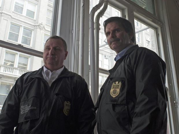 NCIS特工Grebas和Hughes