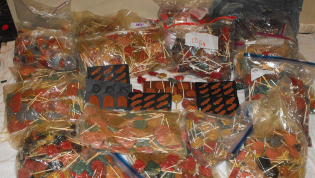 $1 Million Worth of Meth Lollipops Discovered in Harris County Home