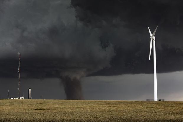 Craziest storm-chaser photos of tornado season