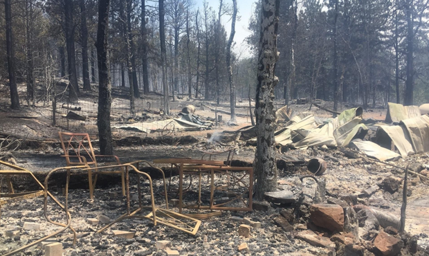Wildfire torches some-more homes as residents flee