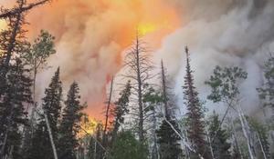 Wind-fueled wildfires lead to evacuations in Utah