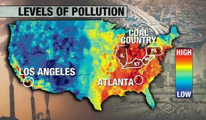 Pollution levels considered safe can shorten lifespans, study shows