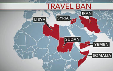 Limited Trump travel ban takes effect