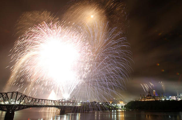 Canada celebrates its 150th birthday