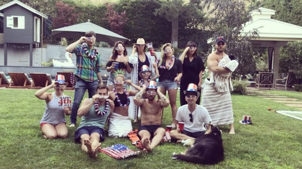 Stars celebrate Fourth of July