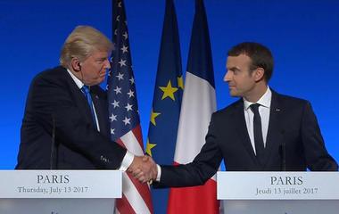 President Trump visits Paris