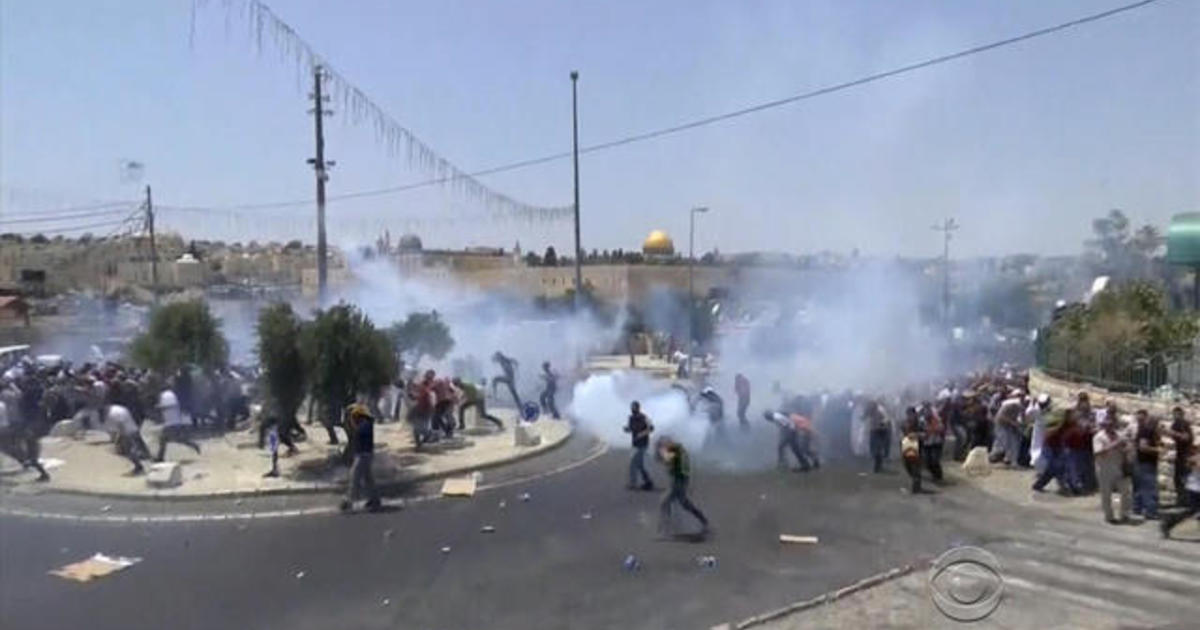 Six people killed Friday in Israel and West Bank amid Jerusalem unrest