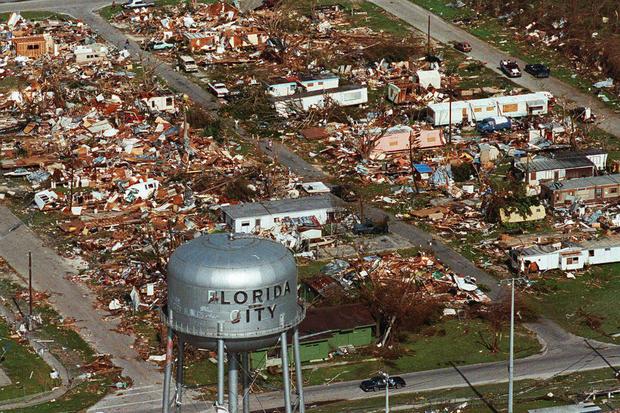 美国飓风 - 最强烈的飓风