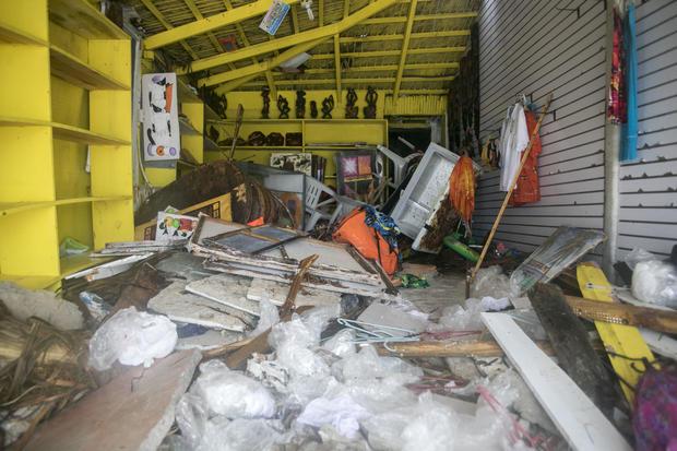 多米尼加共和国飓风玛丽亚