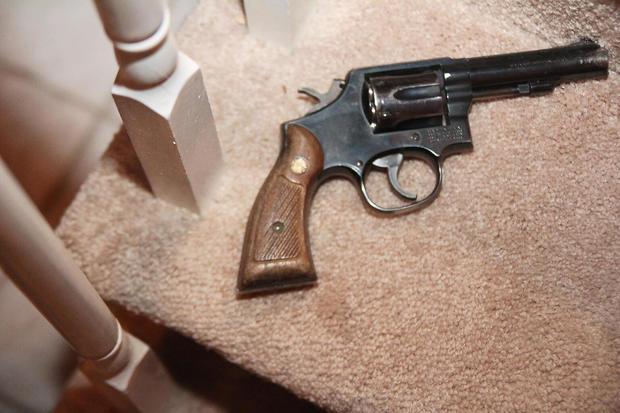 Gilhuley枪证据照片