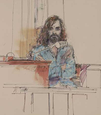 The art of courtroom illustrators
