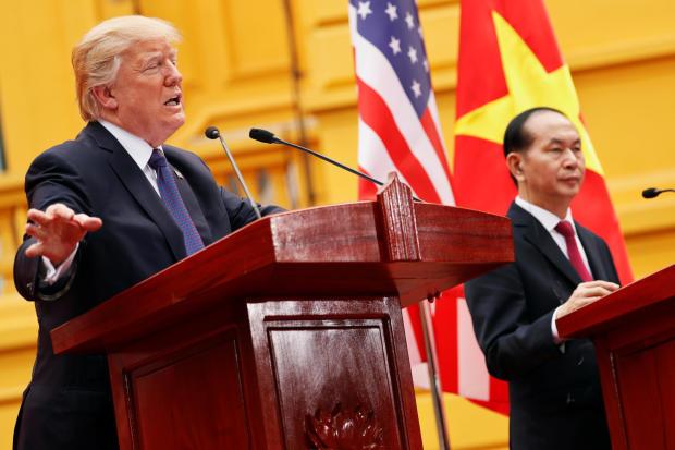 特朗普在越南