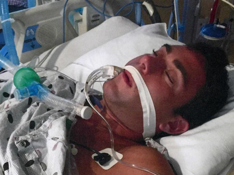Jacob Nolan in a coma