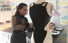 "Layana Aguilar: Versace designs turned women into ""superheroes"""
