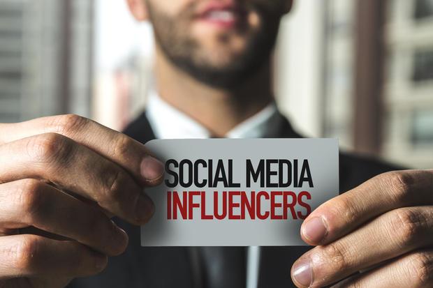 Top social media influencers of 2018
