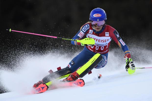 Mikaela Shiffrin-奥迪FIS高山滑雪世界杯 - 女子障碍滑雪