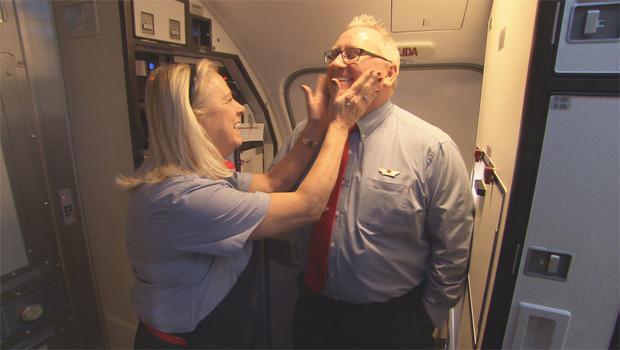 西南基地的航空公司结婚,飞行服务员,620.jpg