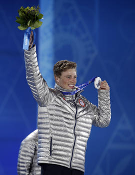 Sochi Olympics Medals Ceremony Freestyle Skiing Men