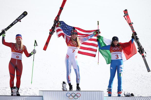 Mikaela Shiffrin  - 高山滑雪 - 冬季奥运会日6