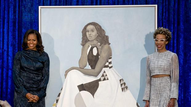 奥巴马肖像