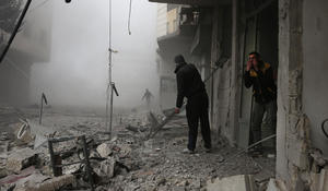 Brutal violence in Syria leaves at least 200 dead