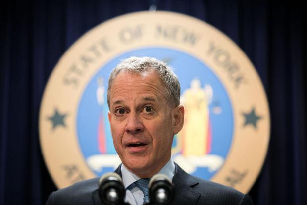 纽约司法部长Eric Schneiderman