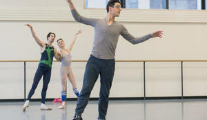 Justin Peck: Dance man