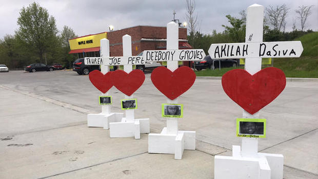 waffle house shooting tennessee -- four crosses