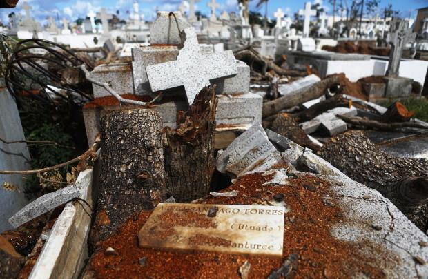波多黎各马克斯节日季节缓慢的飓风恢复
