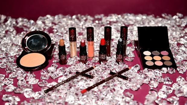 MAC Cosmetics Aaliyah在好莱坞举办派对
