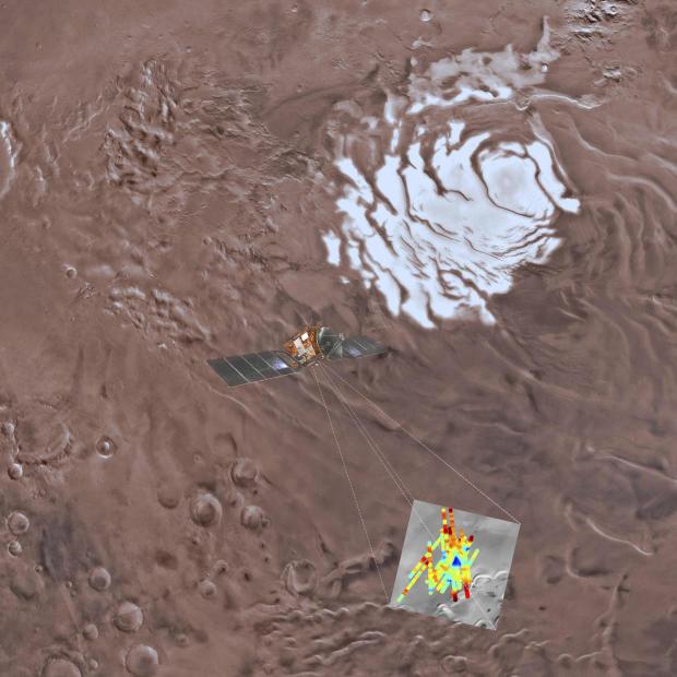 太空火星水库