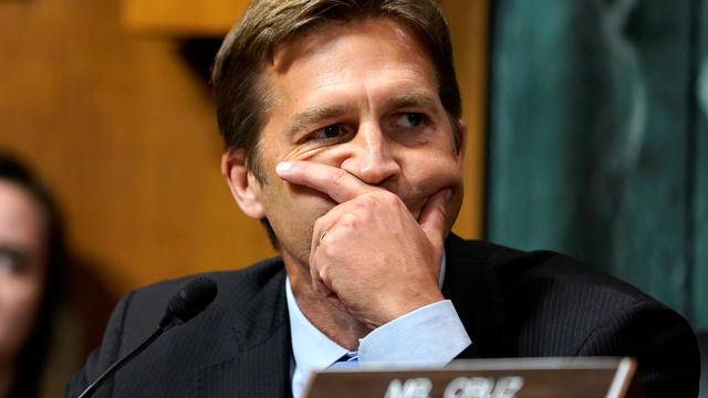 Sen. Ben Sasse questions Supreme Court nominee Brett Kavanaugh as he testifies before the Senate Judiciary Committee on Capitol Hill in Washington