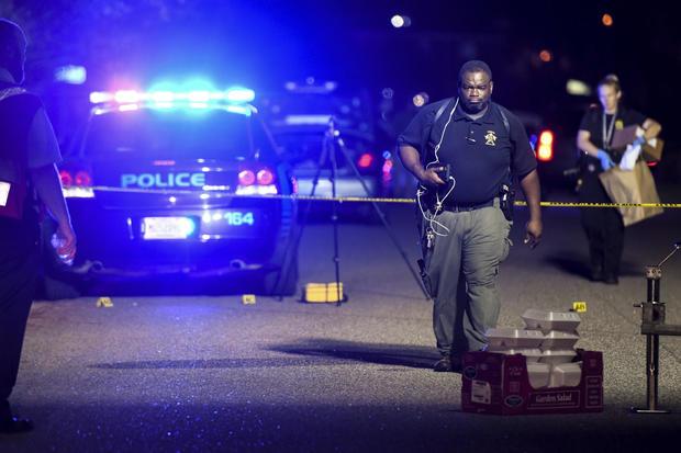 警察射击南卡罗来纳州