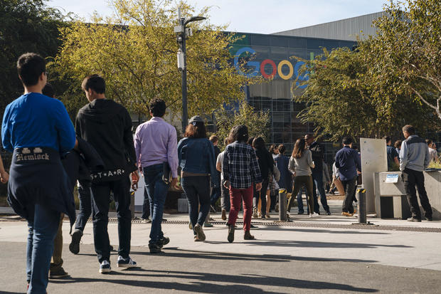 Google员工阶段罢工抗议公司的性骚扰行为