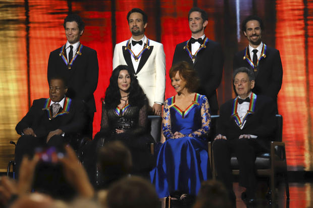Wayne Shorter,Cher,Reba McEntire,Philip Glass,Thomas Kail,Lin-Manuel Miranda,Andy Blankenbuehler,Alex Lacamoire