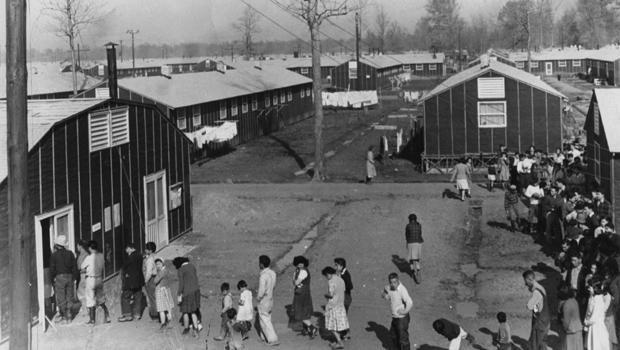心脏山,搬迁营,在怀俄明 - 在最早期1940 620.jpg