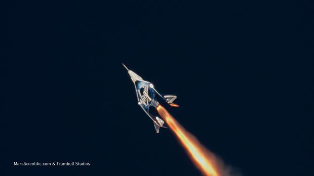 Virgin Galactic于2018年12月13日首次航天飞行
