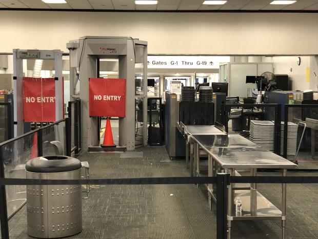 美国的政治 - 关机 - 机场 - 迈阿密
