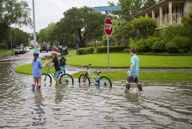 德克萨斯州暴雨