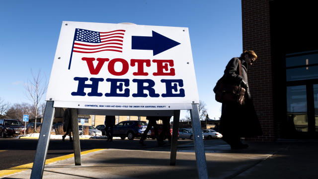 Voters In 14 States Head To The Polls On Super Tuesday